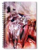 Figurative Art 004-b Spiral Notebook