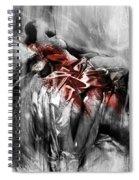 Figurative Art 004-d Spiral Notebook