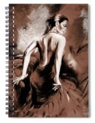 Figurative Art 007b Spiral Notebook