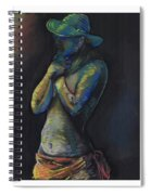 Figure Hat And Scarf Spiral Notebook