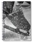 Figure Skating Abstract Spiral Notebook