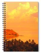 Fiji Mana Island Spiral Notebook