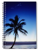 Fiji Sunset Spiral Notebook