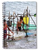 Filipino Fishing Spiral Notebook