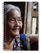 Filipino Lola - Image Number Fourteen  Spiral Notebook