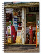 Filling Station Spiral Notebook