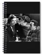 Film Noir Publicity Photo #2 Bogart And Bacall The Big Sleep 1945-46 Spiral Notebook