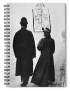 Film Still: Suffragette Spiral Notebook