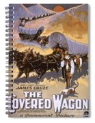 Film: The Covered Wagon Spiral Notebook