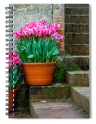 Filoli Tulips Spiral Notebook