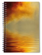 Filtered Sun Spiral Notebook