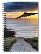 Final Beachy Head Pass Spiral Notebook