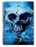Final Destination-an American Horror Franchise  Spiral Notebook