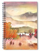 Finca In Spain Spiral Notebook