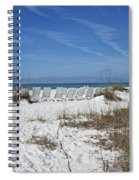 Finding Happiness Spiral Notebook