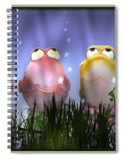Finding Nemo Figurine Characters Spiral Notebook