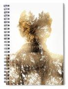 Finding Spirit Within Spiral Notebook