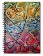 Finding Sun Spiral Notebook