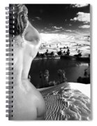 Finding The Oasis Spiral Notebook