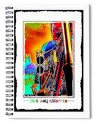 Fine Art Chopper I Spiral Notebook