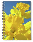 Fine Art Daffodils Floral Spring Flowers Art Prints Canvas Baslee Troutman Spiral Notebook