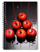 Fine Art Toffee Apple Dessert Spiral Notebook