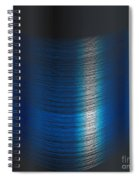 Fine Blue Thread Spiral Notebook