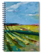 Fine Fields Spiral Notebook