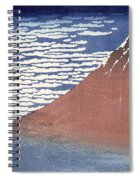 Fine Weather With South Wind Spiral Notebook