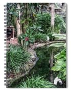 Fine Wine Cafe Beautiful Garden Spiral Notebook