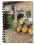 Fine Wine Spiral Notebook