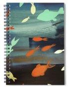 Finestra Di Pesci Spiral Notebook