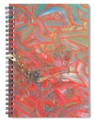 Finger Painting Spiral Notebook