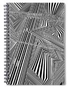 Fingerprints Spiral Notebook