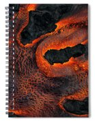 Fingers Of Lava Spiral Notebook