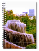Finlay Park Fountain Summertime Spiral Notebook