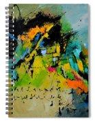 Finnegans Wake Spiral Notebook