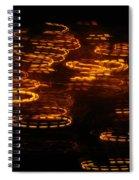 Fire Abstract  Spiral Notebook