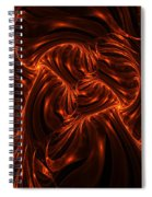 Fire Abstraction Spiral Notebook