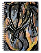 Fire And Stone Spiral Notebook