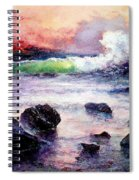 Fire And Water 1.0  Spiral Notebook