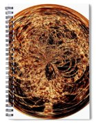 Fire Ball Spiral Notebook