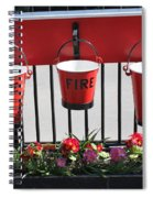 Fire Buckets Spiral Notebook