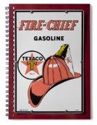 Fire-chief Sign Spiral Notebook