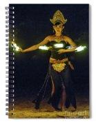 Fire Dance Spiral Notebook