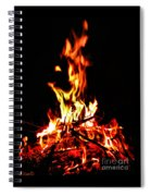 Fire Dancer Spiral Notebook