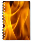 Fire Desires Art Fiery Hot New York Autumn Warmth Baslee Troutman Spiral Notebook