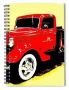 Fire Engine Ok Spiral Notebook