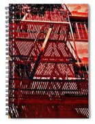 Fire Escape Spiral Notebook
