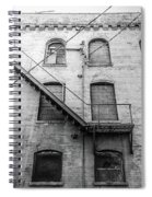 Fire Escape Spiral Notebook